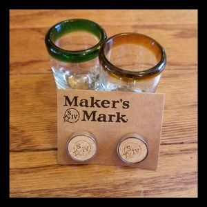 LAST PAIR!! CUFF LINKS - MAKERS MARK S IV